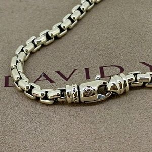 David Yurman Accessories - David Yurman Large Box Chain Bracelet, 5mm